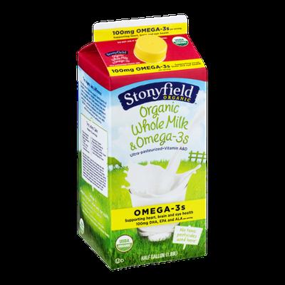 Stonyfield Organic Whole Milk & Omega-3s
