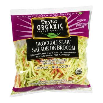 Taylor Organic Broccoli Slaw