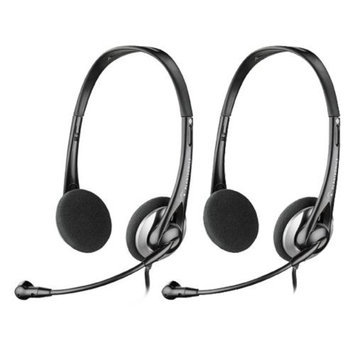 Plantronics AUDIO326 Stereo Corded Headset (2 Pack)