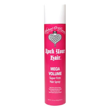 Michael O'Rourke Rock Your Hair Mega Volume Super Firm Hairspray, 12 oz