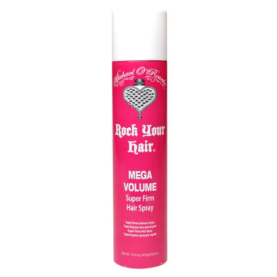 Michael O'Rourke Rock Your Hair Mega Volume Super Firm Hairspray, 12 oz