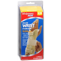 Walgreens Deluxe Wrist Stabilizer, Left, Small/Medium, 1 ea