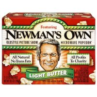 Newman's Own Old Style Picture Show Microwave Popcorn