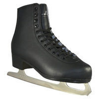 American Athletic Men's American Leather Lined Figure Skate - Black (13)
