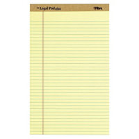 TOPS The Legal Perforated Pads - Yellow (50 Sheets Per Pad)