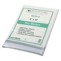 Quality Park 4Redi-Strip Poly Mailer, Side Seam - White