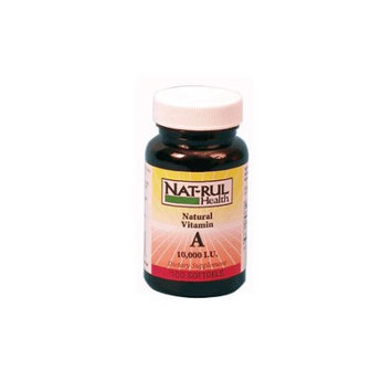 Natrul Health Vitamin A 10,000 Iu Softgels - 100 Ea