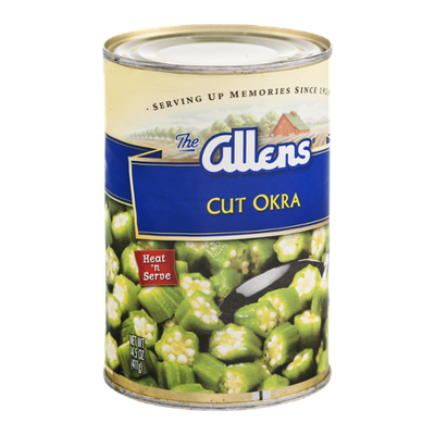 Allens Cut Okra