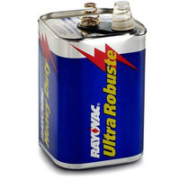 Rayovac Rayovac - Lantern Batteries 6 Volt Spring Terminal Heavy Duty Battery: 620-944R - 6 volt spring terminal heavy duty battery