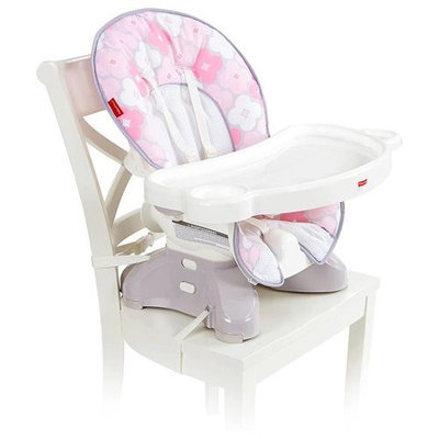 Fisher Price Fisher-Price SpaceSaver High Chair - Petal Pink