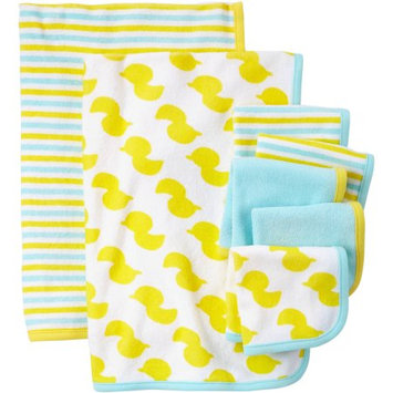 Child Of Mine By Carter's Child Of Mine Made By Carter's Newborn Baby Washcloth And Towel Set, 7 Pack