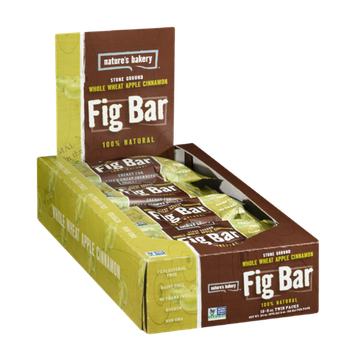 Nature's Bakery Fig Bar Whole Wheat Apple Cinnamon - 12 CT
