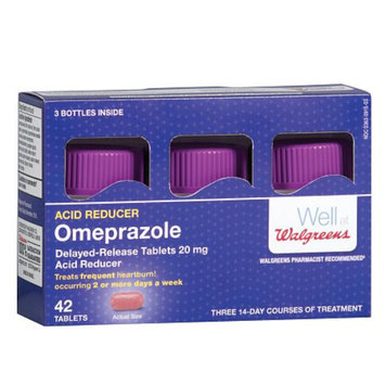 Walgreens Omeprazole Dr 20Mg Tablets