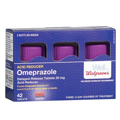 Walgreens Omeprazole Dr 20Mg Tablets