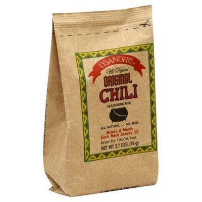 Lysander's Original Chili Seasoning, 2.7-Ounce (Pack of 6)