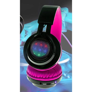 Xtreme Digital Lifestyle Accessories XBH9-1010-PNK Oth Bt Flashing Headphone Pnk