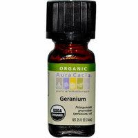 Aura Cacia Organic Geranium .25 oz