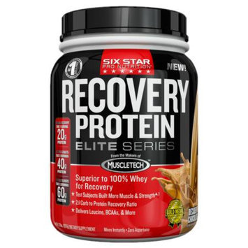 Six Star Elite Series Recovery Protein Decadent Chocolate