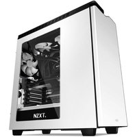 NZXT H440 Silent Mid-Tower White Case- 3 x 120mm FN V2 Fans, 1 x 140mm FN V2 Fan, SECC Steel, and ABS Plastic Material -