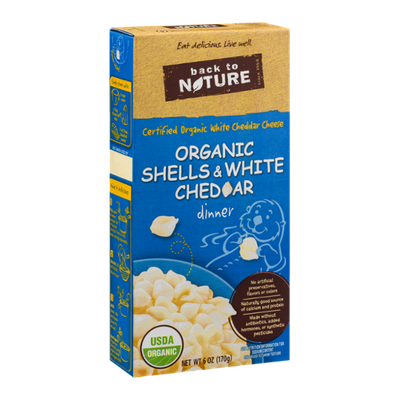 Back To Nature Organic Shells & White Cheddar Dinner