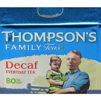 Thompson's Family Teas - Decaf(80 tea bags)