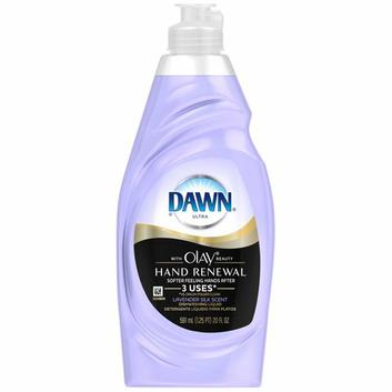 Dawn Hand Renewal with Olay Dishwashing Liquid Lavender