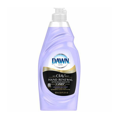Dawn Hand Renewal with Olay Dishwashing Liquid Lavender