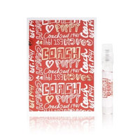 Coach Poppy .05 oz / 1.5 ml edp Mini Vial Sampler Spray