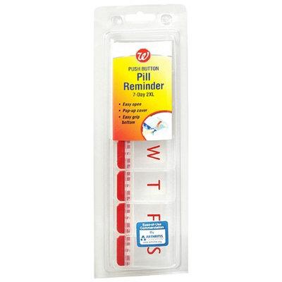 Walgreens Pill Reminder Soft Touch 7-Day 2XL Pill Case