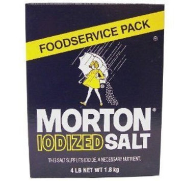 Morton Iodized Table Salt - 4lb. box