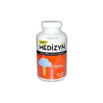 Medizym V Vegetarian Enzyme Formula by Naturally Vitamins - 400 Tablets