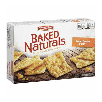 Pepperidge Farm Baked Naturals Four Cheese Crisps