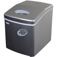 Portable Ice Maker - Silver Finish