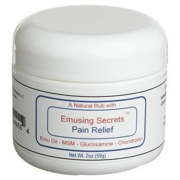 Emusing Secrets Pain Relief Cream, 2-Ounce Bottle
