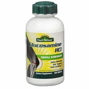 Finest Glucosamine Hcl Triple Strength Tablets