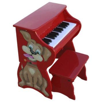 Schoenhut 25 Key Dog w/ Bench