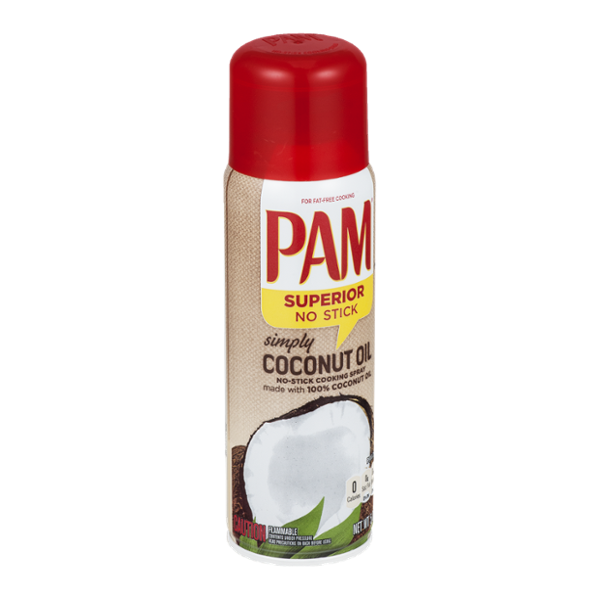 Pam No-Stick Cooking Spray Simply Coconut Oil