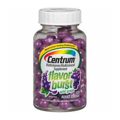 Centrum Flavor Burst Wild Grape Multivitamin/Multimineral Supplement Adult Chews