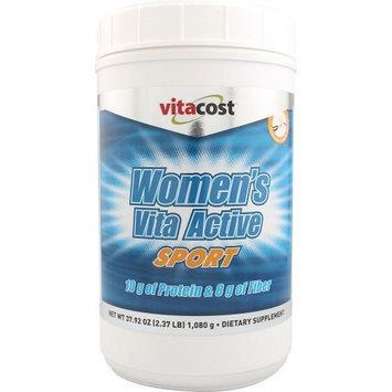 Vitacost Brand Vitacost Women's Vita Active Sport Vanilla -- 2.37 lbs