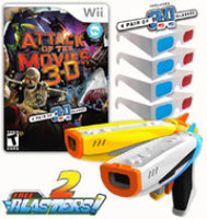 Interworks Unlimited, Inc. Attack of the Movies 3D with 2 Blasters