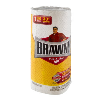 Brawny Pick-A-Size Paper Towels Big Roll White - 1 CT