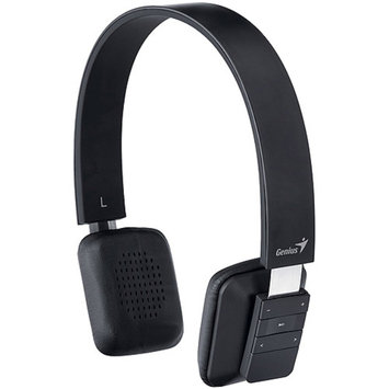 Genius USA Genius HS-920BT Bluetooth Headband Headset, Black