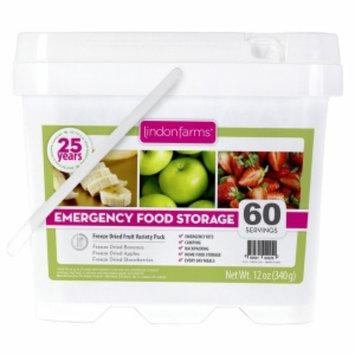 Lindon Farms Food Storage Kit Freeze Dried Fruit, 60 Servings, 1 ea