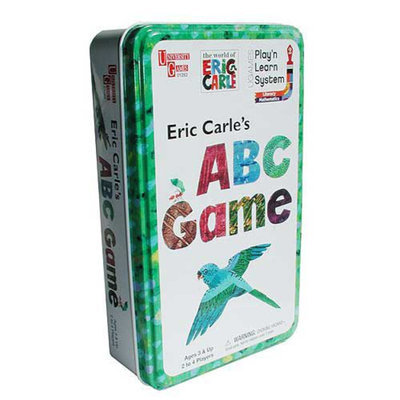 University Games UNIVERSITY GAMES Eric Carle's ABC Game in a Tin