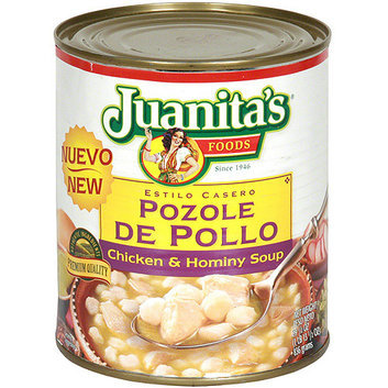 Juanita's Foods Chicken & Hominy Soup With Roasted Green Chiles