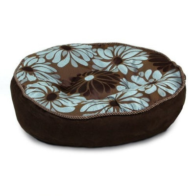 Kyjen Instinct 24-Inch Dog Bed, Small, Floral