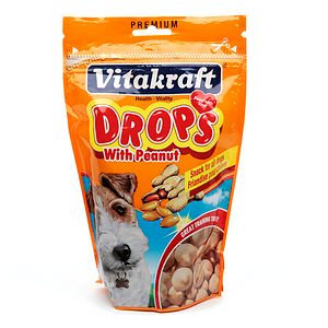 Vitakraft Drops with Peanuts for Dogs