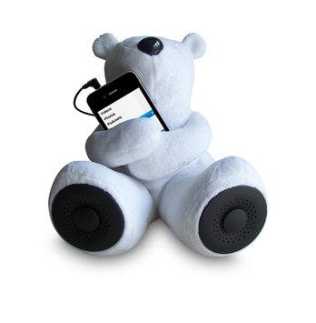 Sungale - Rspa, Inc Sungale - RSPA Inc S-T1 Teddy Bear Speaker-White