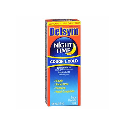 Delsym Night Time Cough & Cold Liquid