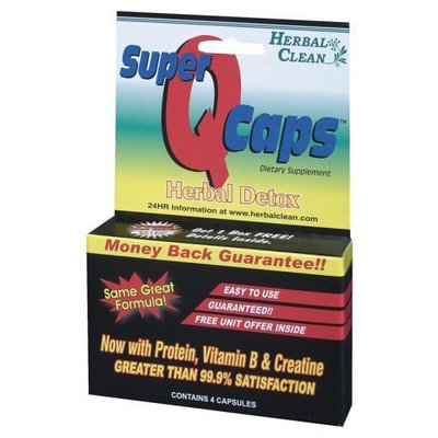 Herbal Clean Detox Super Quick Caps (45 Minutes) - 4 - Capsule